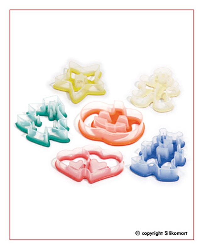 Silikomart SET BABY CUTTER - 6ks