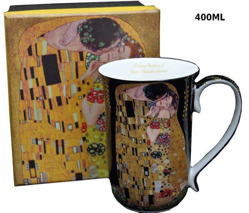 Hrnček 400 ml Gustav Klimt Kiss The Kiss, Queen Isabell, 16586