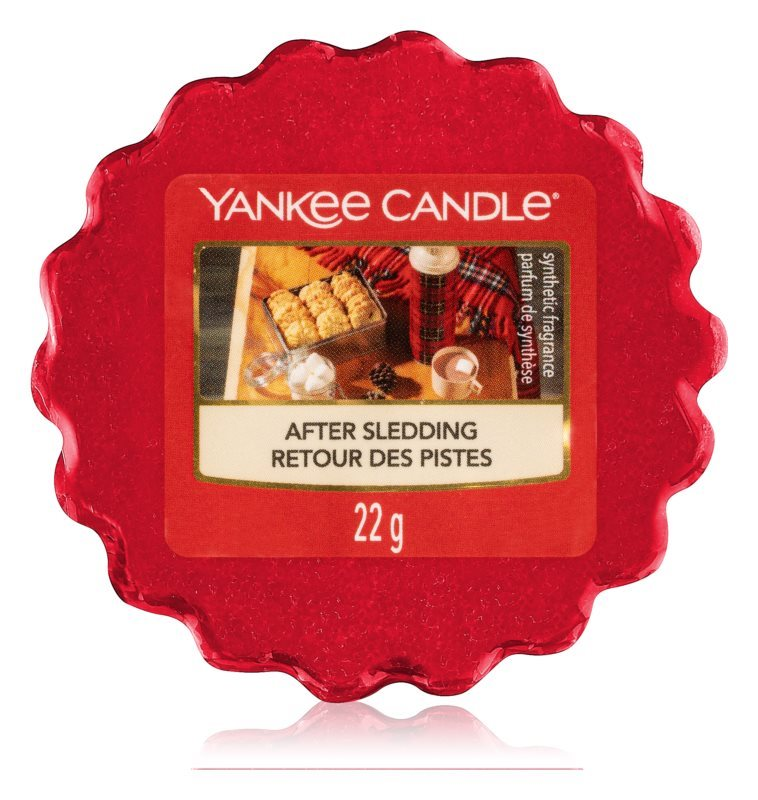YANKEE CANDLE Vonný vosk AFTER SLEDDING