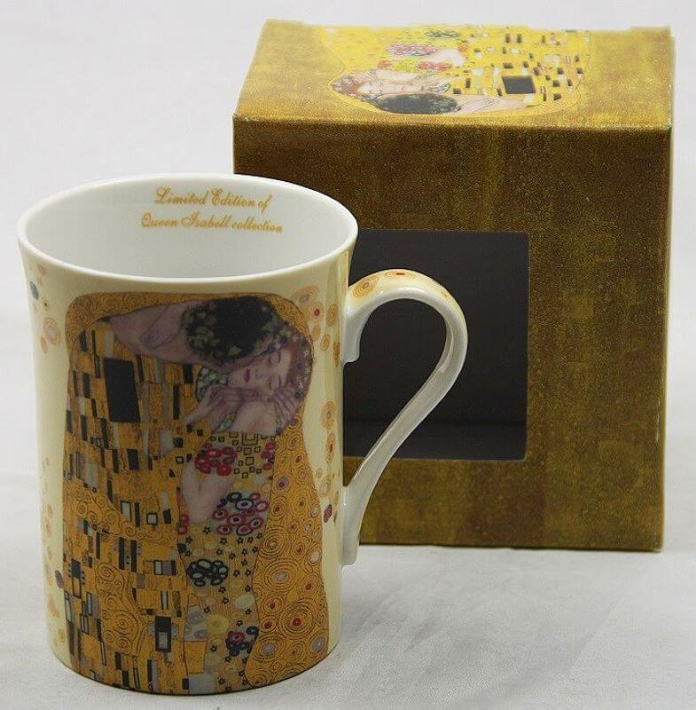 Hrnček 250 ml  Gustav Klimt The Kiss, Queen Isabell, 09237
