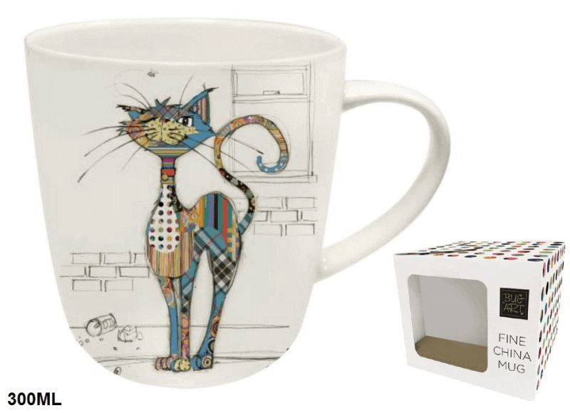 BUG ART Hrnček porcelánový 300 ml, Cat