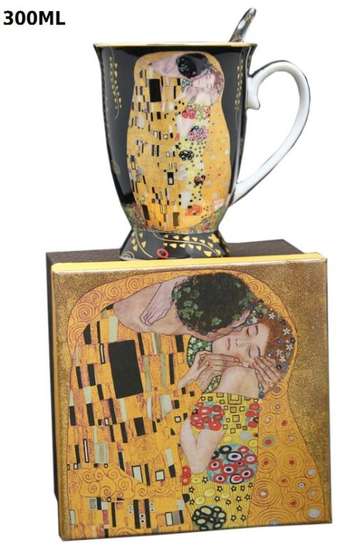 Hrnček 300 ml Gustav Klimt Kiss The Kiss, Queen Isabell, 16568
