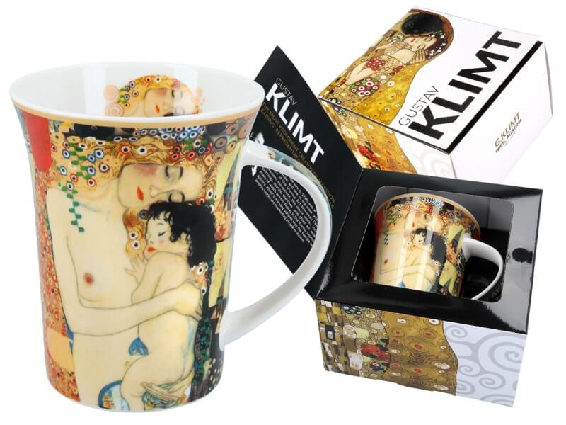Hrnček  Gustav Klimt 350 ml Three Ages of Woman, CARMANI