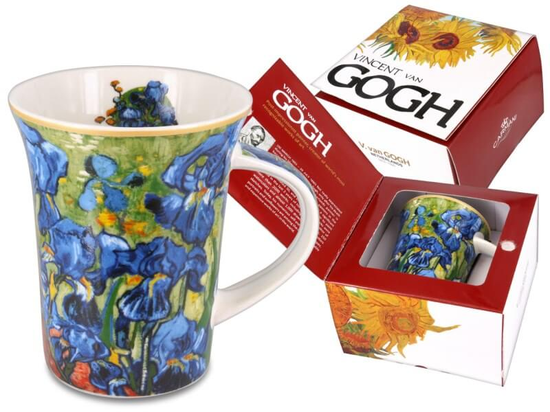 Hrnček 350 ml Vincent van Gogh Irisy, CARMANI