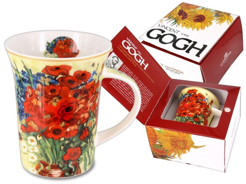 Hrnček 350 ml Vincent van Gogh Red Poppies and Daisies, CARMANI