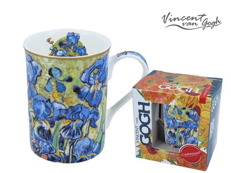 Hrnček 420  ml Vincent van Gogh Irisy, CARMANI 8302305