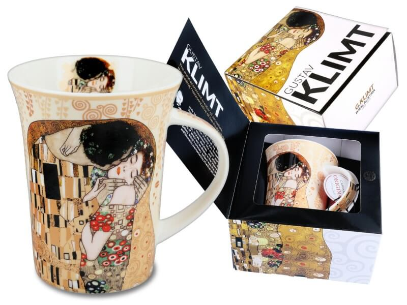 Hrnček  Gustav Klimt 350 ml The Kiss, CARMANI